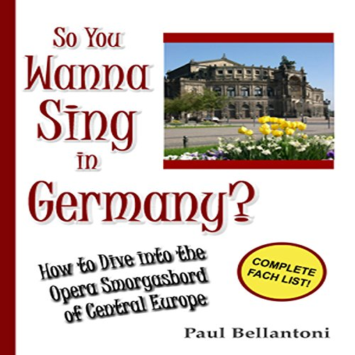 So You Wanna Sing in Germany? audiobook cover art