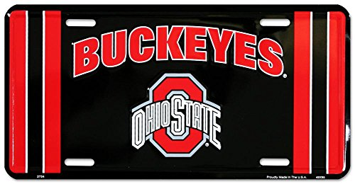 Ohio State Buckeyes License Plate Frame NCAA by Pride Plates