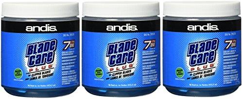 (3 Pack) Andis Blade Care Plus Dip Jar, 16 oz Per Jar
