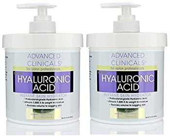 Advanced Clinicals Anti-aging Hyaluronic Acid Cream