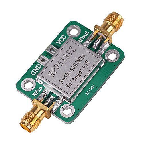 Akozon RF Leistungsverstärker, LNA 50-4000 MHz SPF5189 RF Verstärker Signalempfänger für FM HF VHF/UHF Amateurfunk