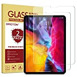 OMOTON [2 Stück] Panzerglas für iPad Pro 11 Zoll (2020 & 2018), 9H Härte, Anti-Kratzer, Anti-Öl, hüllefreundlich Glas Schutzfolie kompatibel mit iPad Pro 11'' (2./1. Gen.)