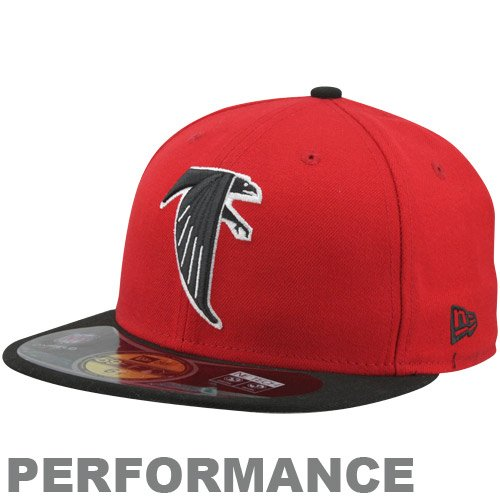 New Era NFL On Field Atlanta Falcons Cap Red 5950 Basic Fitted Team Kappe 9d9155ac9