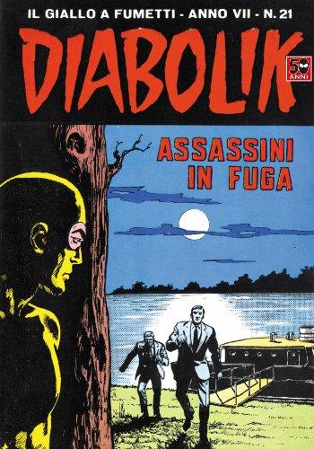 DIABOLIK (123): Assassini in fuga (Italian Edition)