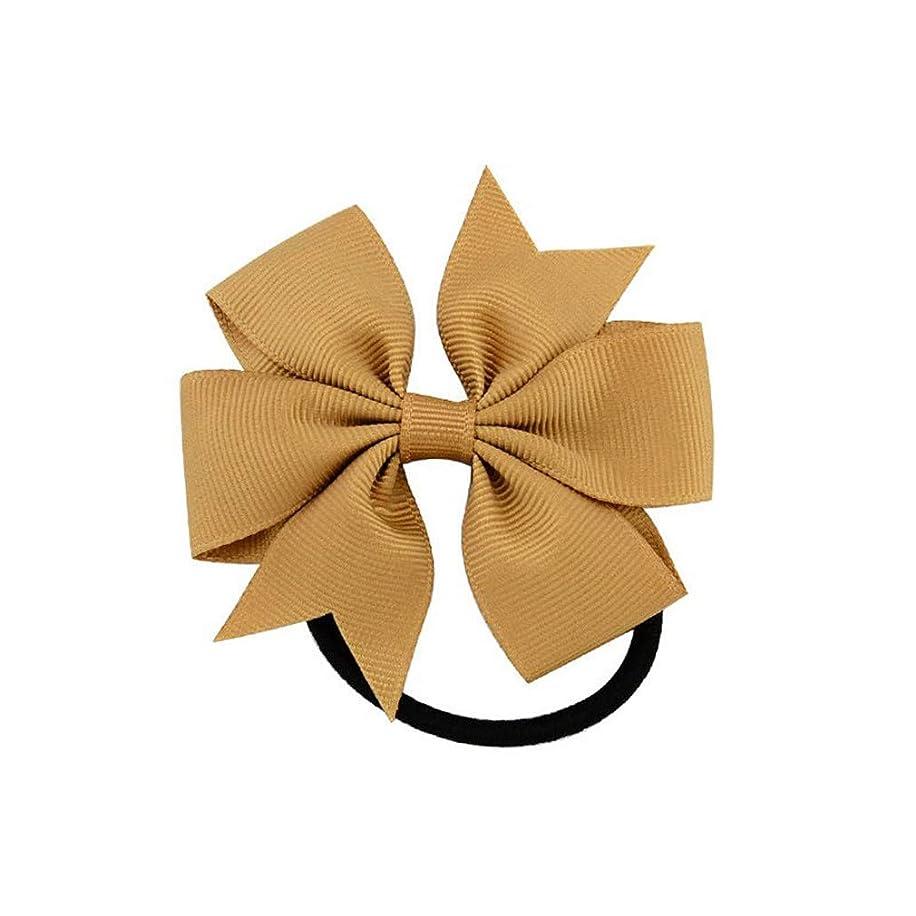 受け継ぐいじめっ子満足できるShang Jie Fashion 1ピース カラフルリボンリボン ゴムヘアバンド 20色 かわいいロープ ヘアアクセサリー ギフト