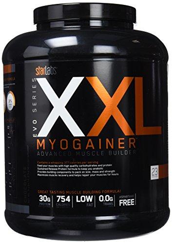 Starlabs nutrition xxl myo gainer, 2270gr. ganador de peso ⭐