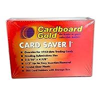 厚紙ゴールドカードセーバー1 - セミリジッドスリーブプロテクター - PSA - BGS - グレードカードサブミッション (200)