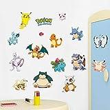 Pegatinas para pared con diseño de animales, de Zooarts, dinosaurio, tortuga, pegatinas extraíbles, vinilo decorativo, pegatinas para habitación infantil