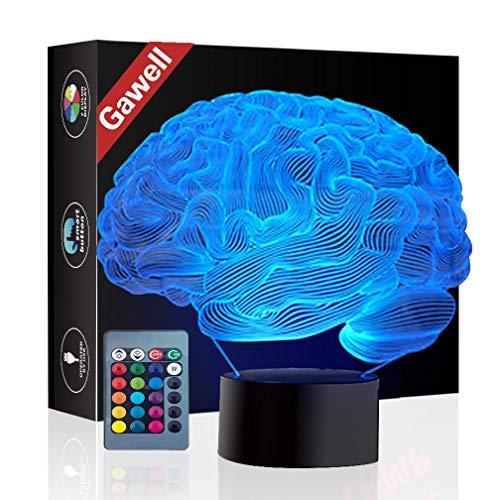 Brain 3D Illusion Lamp