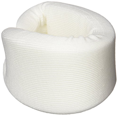 DMI Soft Foam Cervical Collar Neck Support, Adjustable, Comfortable, Hand Washable, Small, White