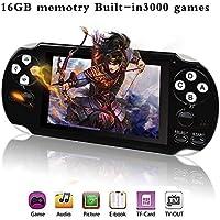 Anbernic Consola de Juegos portátil,Consola de Juegos con 3000 Juegos , videoconsola portátil (Black)