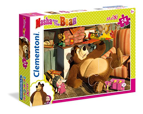 Clementoni 24492–Puzzle Masha und Bär