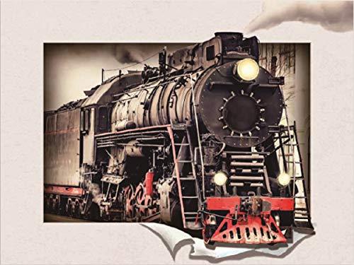 Visario 3D Bild Lokomotive Dampflock 4310, viele 3 dimensionale Bilder zur Auswahl.