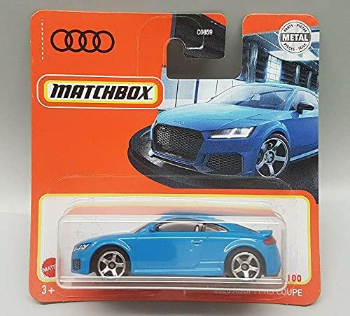 Matchbox - 2020 Audi TT RS Coupe - Blau - GXM24 - 16 / 100 - Short Card - MBX 2021