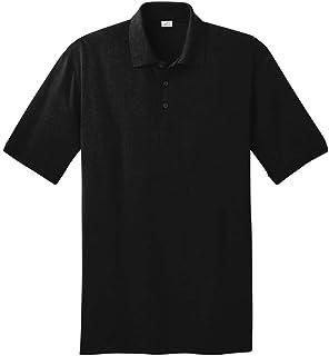 قميص بولو طويل للرجال من Joe's USA بـ 21 لونًا. أحجام الطول: LT-4XLT