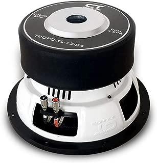 Tropo XL 12 Inch Dual 4 Ohm Car Audio Subwoofer D4 by CT Sounds