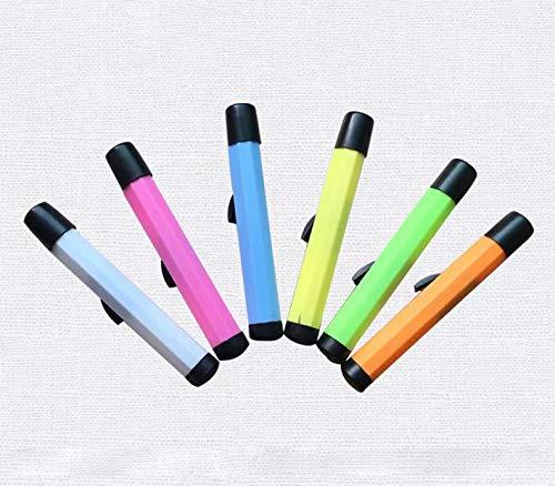 HANBIN Color aleatorio 5pcs para escuela Chalk Holder Holster Plastic Case Anti-stuck version