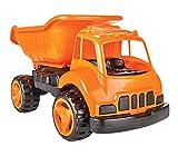 Jamara- Dump Truck XL Coche de Arena, Color Naranja (460268)