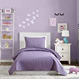 Urban Playground Comforter Set, QUILT TWIN, ANGELIETTA PURPLE