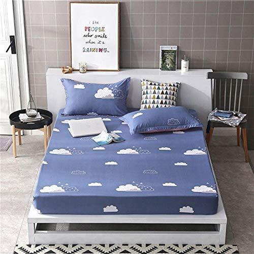 PENVEAT 1 stücke 100% Polyester Druck Bett matratze Set mit Vier Ecken und Gummiband blätter heißer, yunduan, 135X200X25 cm