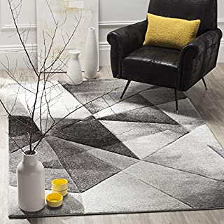 Safavieh Porcello Collection PRL6939D Modern Abstract Geometric Art Light Grey and Charcoal Area Rug (5' x 8') (B01GS1YADW) | Amazon price tracker / tracking, Amazon price history charts, Amazon price watches, Amazon price drop alerts