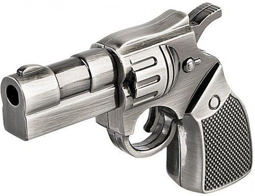 TJ 32 GB Metal Gun Shape USB Flash Drive