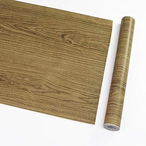 Moderne Tapeten Tv Hintergrund Wohnzimmer Wallpa Holzmaserung Aufkleber Holzimitation Tapete Großhandel DIY Schlafzimmertapete Schlafwasserdichte Wand-Aufkleber-Kabinett-Möbel-Aufkleber-Wand-Aufkleber