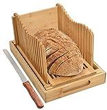 SMILOH Kitchen Seven - Cortador de pan con bandeja recogedora, de...