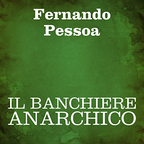 Il banchiere anarchico audiobook cover art
