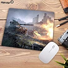 Mouse Pads - Big Promotion World of Tanks Mouse Pad Gamer Mousepad Notebook Computer Gaming Pad to Mouse WOT LOL CS DOTA2 Play Mats (22X18CM)