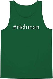 The Town Butler #Richman - A Soft & Comfortable Hashtag Men`s Tank Top