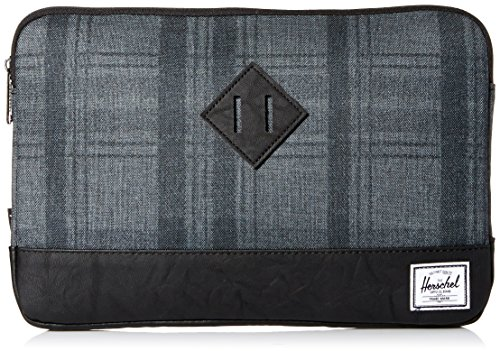 Herschel Astuccio Porta iPad Uomo Donna Nero Men Woman Herritage Sleeve For 11 Inch Mcbook Plaid/Black 66415A067