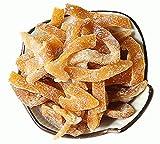 HELENOU666 Preserved Prunes Dried Sweet-Salt Tangerine Orange Peel Strips Chan Pui 九制甜咸陈皮条丝