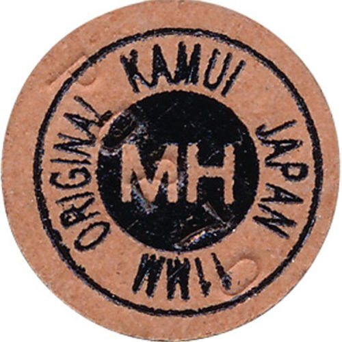 Kamui Original Braun 11mm Snooker Queue Spitze Medium Hard (MH) Layered Schweinsleder Leder Pool Queue Stick Spitze