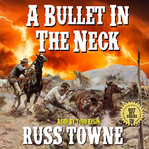 A Bullet in the Neck audiobook cover art