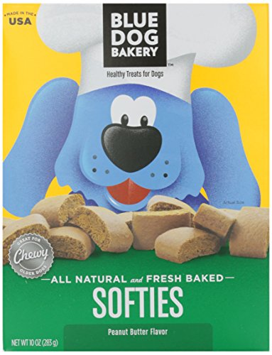 Blue Dog Softies, Peanut Butter, 10 oz