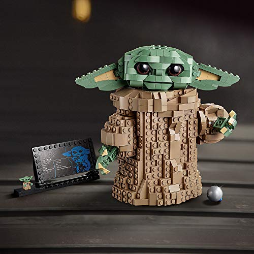 LEGO 75318 Star Wars: The Mandalorian The Child Baby Yoda Figure Gift Idea