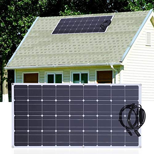 150W 18V Flexible Solar Panel Monokristalline Solarzelle Tragbare Solarzelle mit 20A Solar Controller und 10M Verlängerungskabel