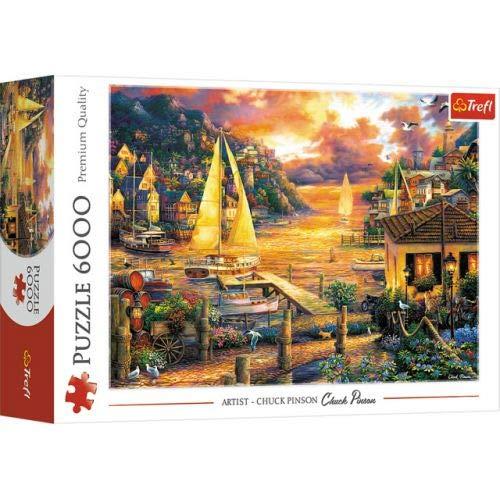 Trefl TR65005 6000 Puzzle, Farbig