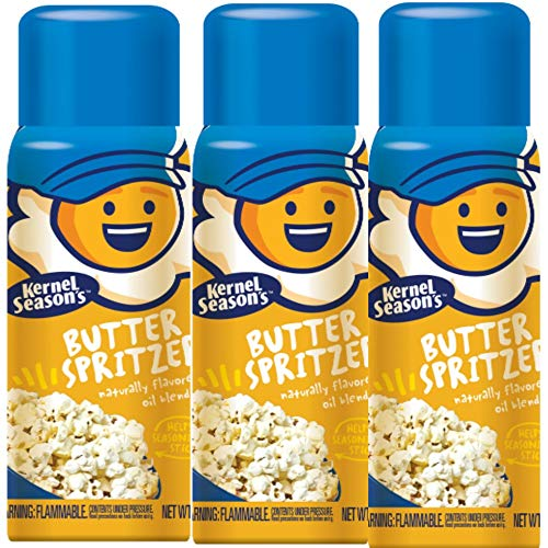 Kernel Season's Movie Theater Butter Popcorn Spritzer Spray 4 Oz