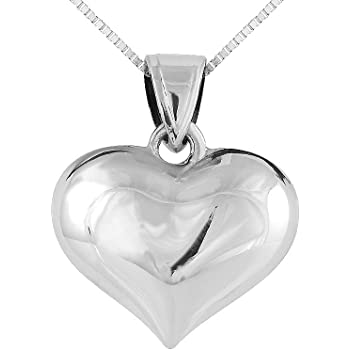 Mireval Sterling Silver Polished Wolf Charm on a Sterling Silver Carded Box Chain Necklace 18