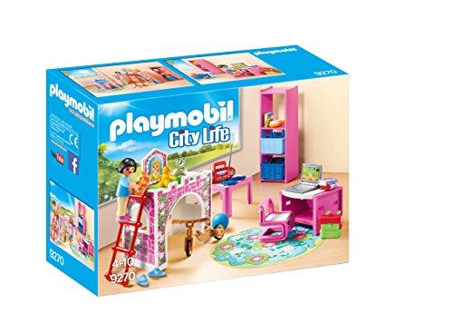 PLAYMOBIL City Life Habitación Infantil, a Partir de 4 Añ