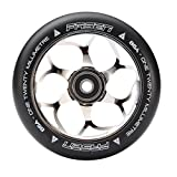 Fasen 120mm Stunt-Scooter Wheel + ABEC 9 Kugellager (Chrome)