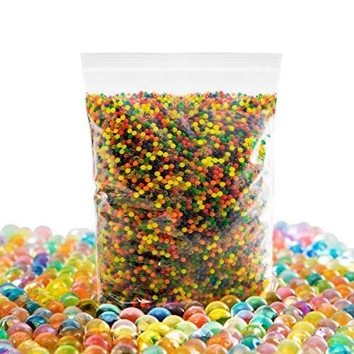 Audamp Wasserperlen42000pcs Gel-Perlen Wassergel-Kugeln für Vasen Dekoration, Pflanzen, Blumen, gemischte Kristalle Hydrogel-Kugeln