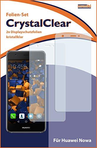 mumbi Schutzfolie kompatibel mit Huawei Nova Folie klar, Displayschutzfolie (2x) - 3