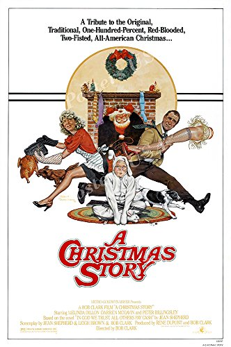 Posters USA A Christmas Story Original Movie Poster GLOSSY FINISH - FIL702 (24' x 36' (61cm x 91.5cm))