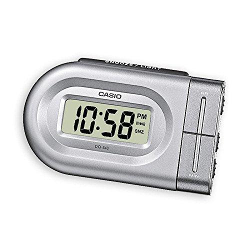 Casio DQ-543-8EF - Alarma con sonido de zumbador, color plata