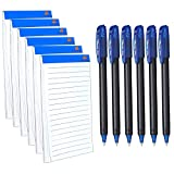 TULMAN Combo of 6 Pack 30 Pages Ruled Writing Notepad and 0.7 mm