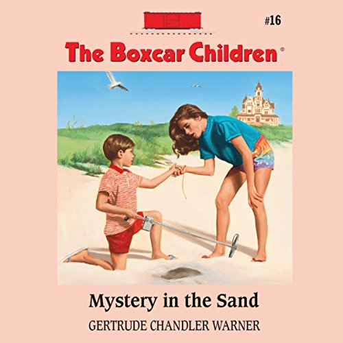 Mystery in the Sand audiobook cover art