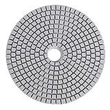Akozon Dischi abrasivi diamantati da 125 mm a 5 pollici per lucidatura di dischi in marmo ...